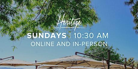 Heritage Christian Fellowship Sunday Service - 10:30 AM tickets