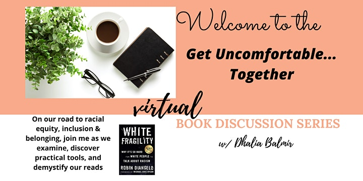 Culturally Responsive  & looking within: a  virtual book discussion series image