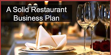 Restaurant Business Plan 2 of 3 tickets