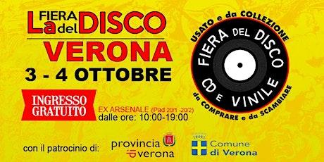 FIERA DEL DISCO DI VERONA (3-4 OTTOBRE) biglietti