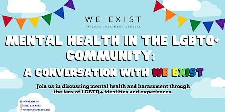 Mental Health in the LGBTQ+ Community tickets