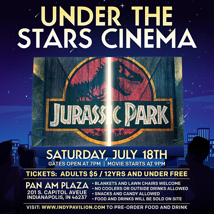 The Pavilion Presents... Under the Stars Cinema - Jurassic Park image