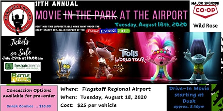 11th Annual Movie at the Airport tickets