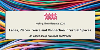 Online group relations conference