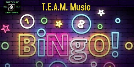 T.E.A.M. Music Bingo & Game Night tickets