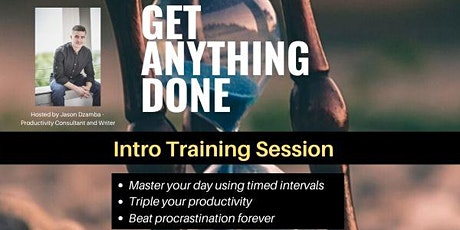 Get Anything Done Intro Online Tickets