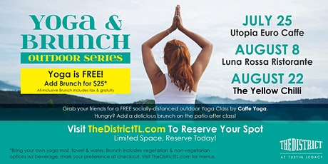 Yoga & Brunch Outdoor Series tickets