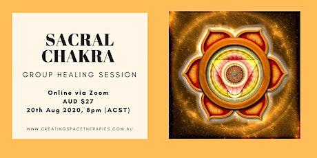 Sacral Chakra Balancing - Group Healing tickets