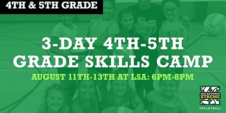 3-Day Volleyball Camp! (4th & 5th Graders) tickets