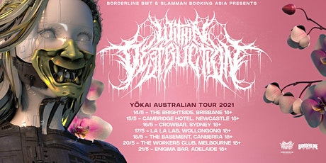 Within Destruction 'Yōkai' Australian Tour 2021 tickets
