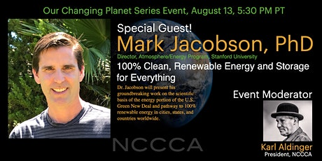 100% Clean, Renewable Energy and Storage for Everything tickets