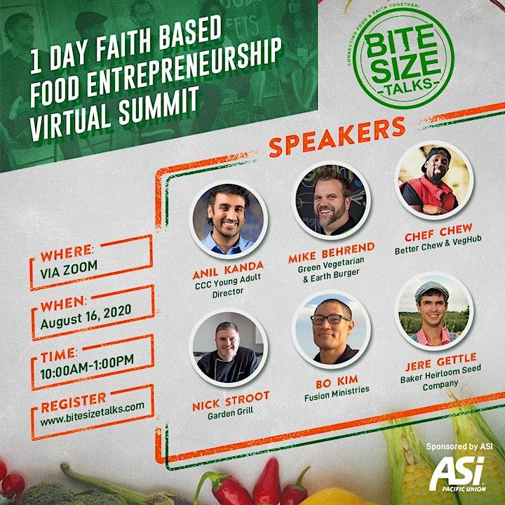 Bite Size Talks Virtual Summit image
