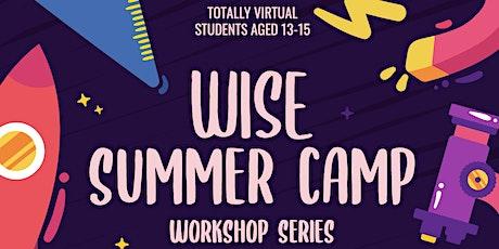 WISE UofT Summer Camp Workshop Series tickets