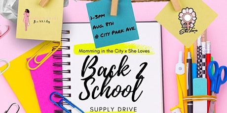 Back 2 School Supply Drive tickets