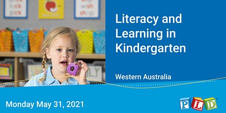 Literacy and Learning in Kindergarten May 2021 tickets