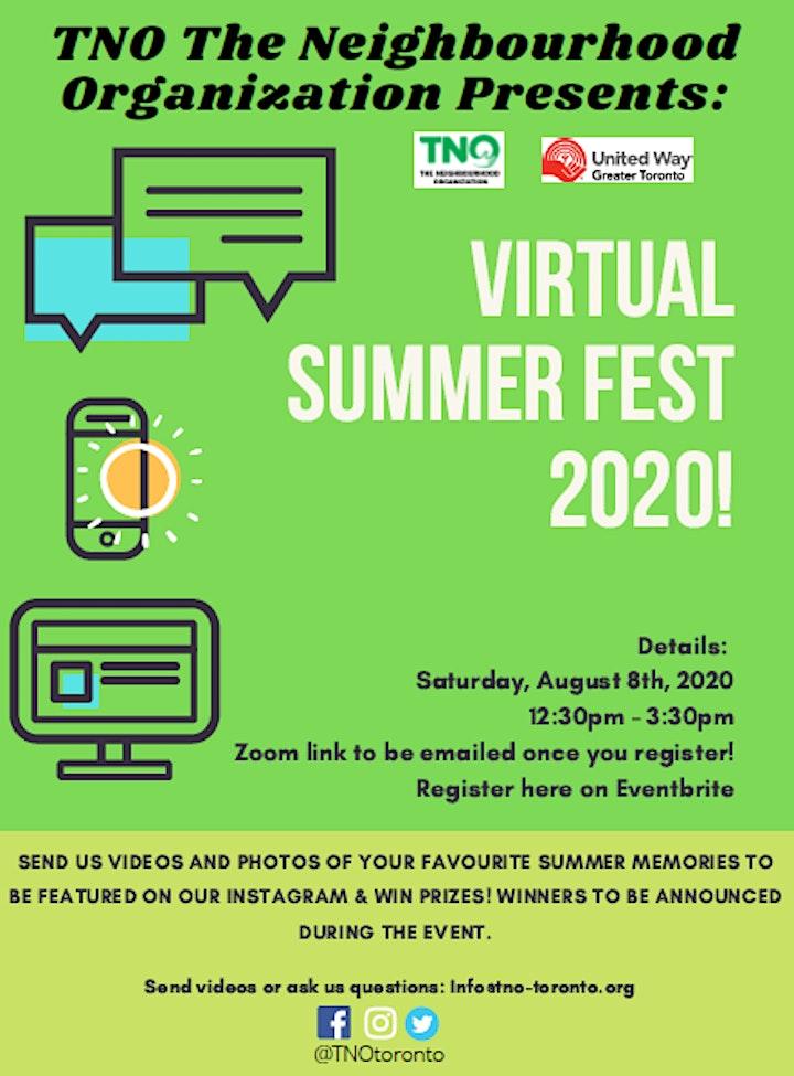 TNO Summer Fest 2020 image
