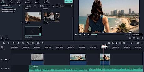 Taller de Creación y edición de videos con Filmora 9 tickets