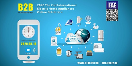The 2nd International Electric Home Appliances Online Exhibition tickets