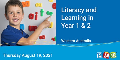 Literacy and Learning in Year 1 & 2 August 2021 tickets