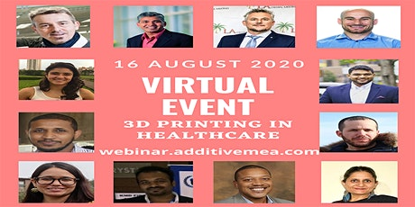 Virtual Event on 3D Printing in Healthcare tickets