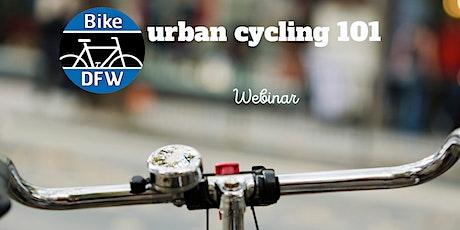 Urban Cycling 101 Webinar tickets