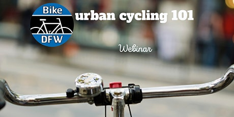 Urban Cycling 101 Webinar tickets