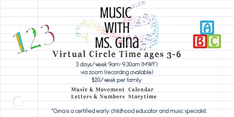 Music with Ms. Gina tickets