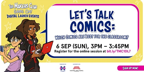 Let's talk comics: Which comics are best for the classroom? tickets
