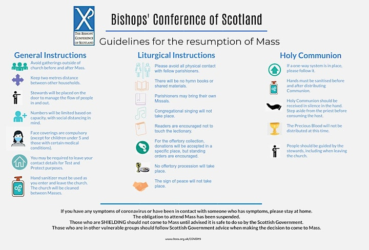 2021 Sunday Mass in St. Mary's RC Church, Arisaig image