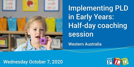 Implementing PLD in Early Years: Half-day coaching session with Diana Rigg tickets