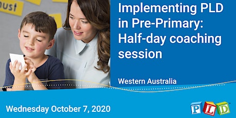 Implementing PLD in Pre-Primary: Half-day coaching session with Diana Rigg tickets