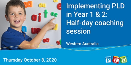 Implementing PLD in Year 1 &  2: Half-day coaching session with Diana Rigg tickets