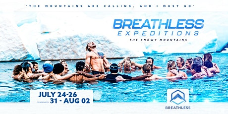 Breathless Expedition Snowy Mountains - September 25-26-27 tickets