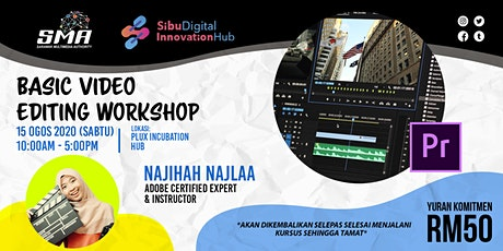 BASIC VIDEO EDITING WORKSHOP tickets
