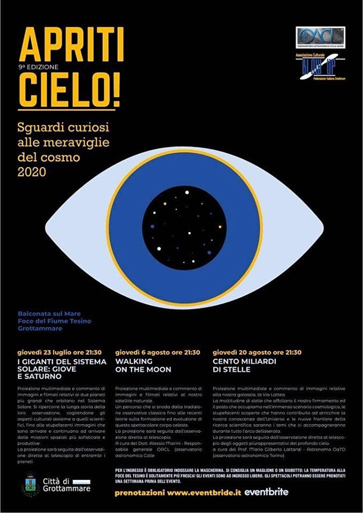 Immagine Apriti Cielo - Walking on The Moon  - Grottammare