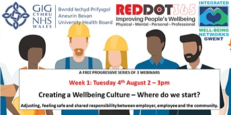 Creating a Wellbeing Culture – Where do we start? tickets
