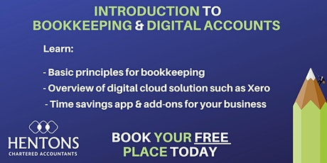 Introduction to basic bookkeeping and digital accounting tickets