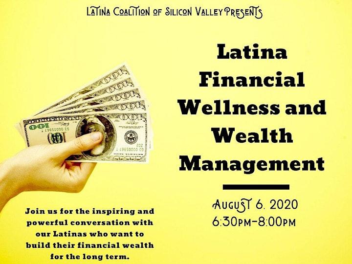 Latina Power Hour:   Latina Financial Wellness and Wealth Management image