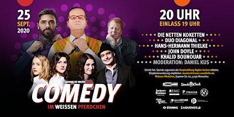 Comedy im weissen Pferdchen 09/2020 Tickets