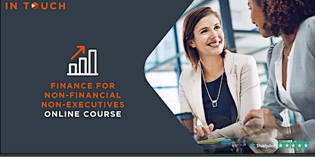 Finance for Non-Financial Non-Executives - Online Course tickets