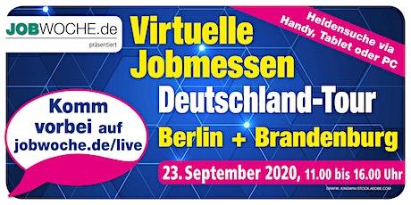 Jobwoche Virtuelle Jobmesse für Berlin + Brandenburg Tickets