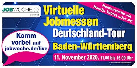 Jobwoche Virtuelle Jobmesse für Baden-Württemberg Tickets