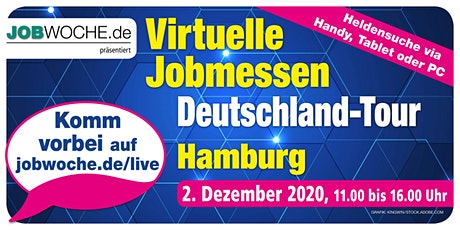 Jobwoche Virtuelle Jobmesse für Hamburg Tickets