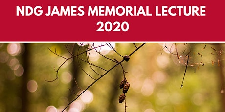 Royal Forestry Society's NDG James Memorial Lecture 2020 - Webinar tickets