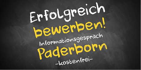 Bewerbungscoaching Online kostenfrei - Infos - AVGS Paderborn Tickets