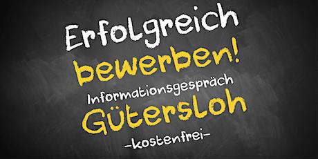 Bewerbungscoaching Online kostenfrei - Infos - AVGS Gütersloh Tickets