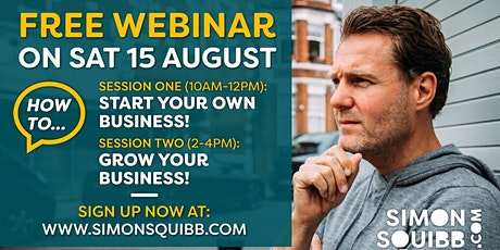 Start Your Own Business + Grow Your Business tickets