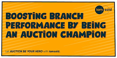 Boosting Branch Performance by Being an Auction Champion tickets