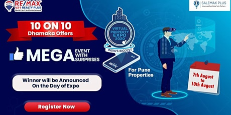 PUNE'S BIGEST VIRTUAL PROPERTY EXPO - 2020 tickets