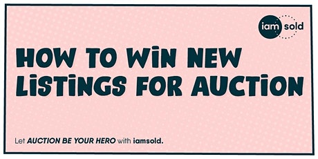 How to Win New Listings for Auction tickets
